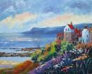 Robin Hood's Bay, Acrylic, 76cm x 61cm - SOLD